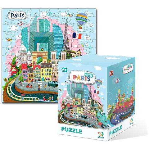 Puzzle Paris Dodo, 120 piese, 6 ani+