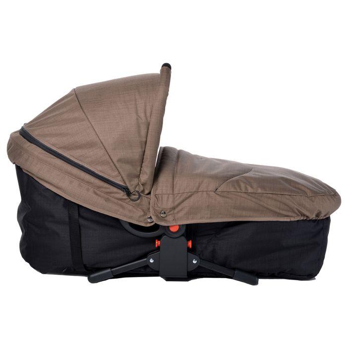 landou scaun pentru carucior maro bebe