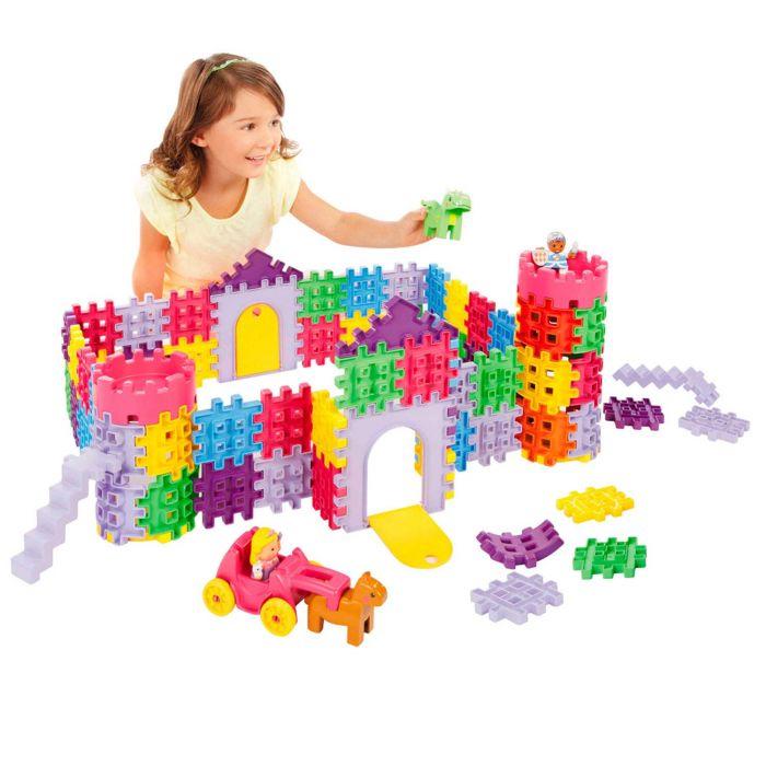 Set 80 blocuri de construit Castel Little Tikes
