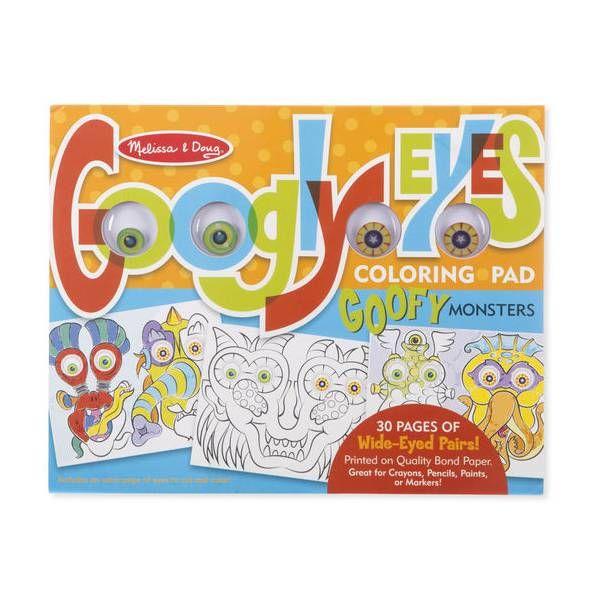 Bloc de colorat Monstruletii veseli Melissa & Doug, 8 ani+