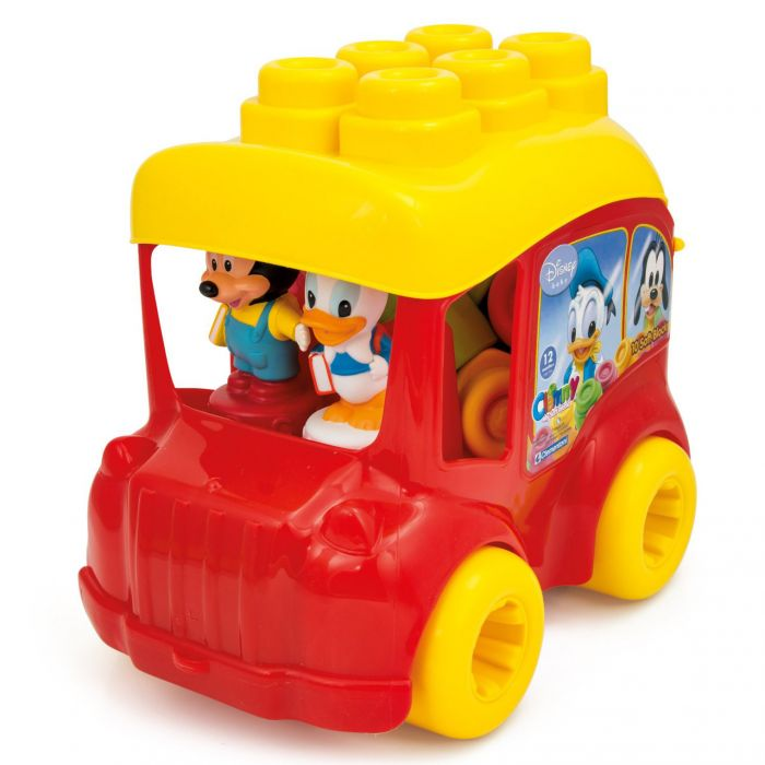 masina autobuz 12 figurine disney mickey mouse donald duck clemmy