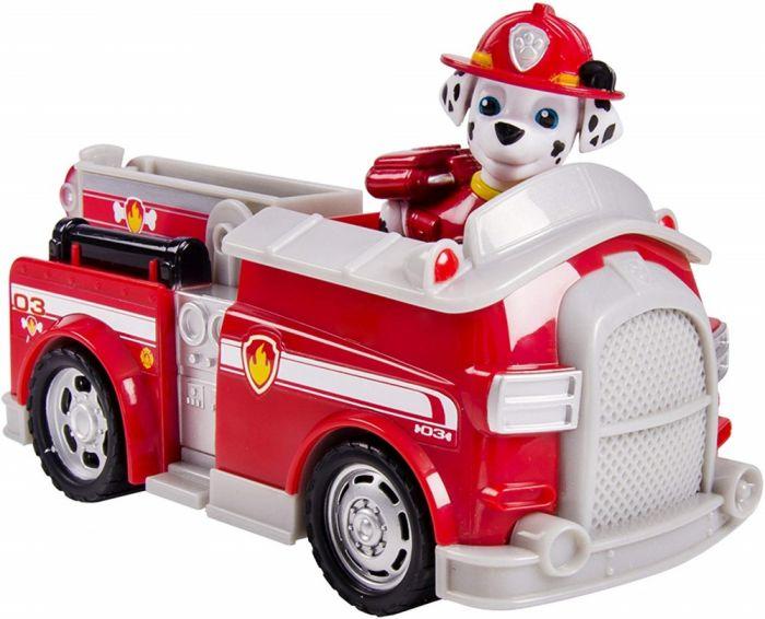 Masina Pompieri si figurina Marshall Patrula Spin Master, 3 ani+