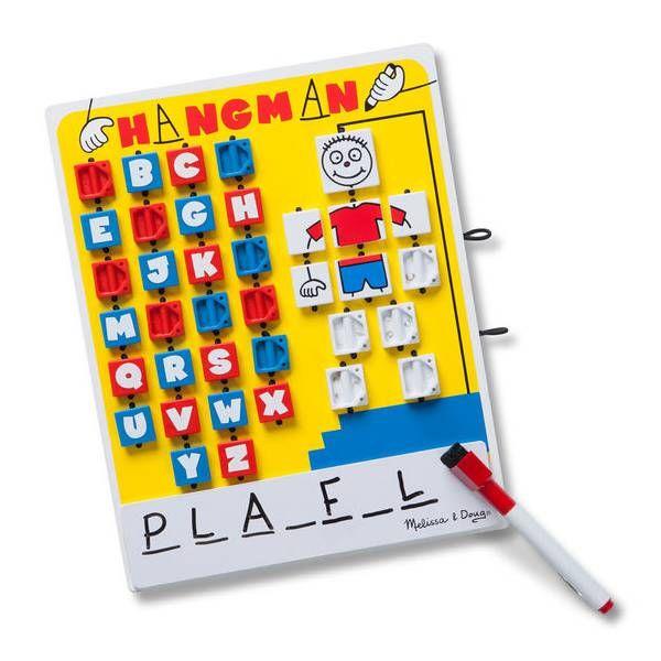Joc de cuvinte Spanzuratoarea Melissa & Doug, 6 ani+