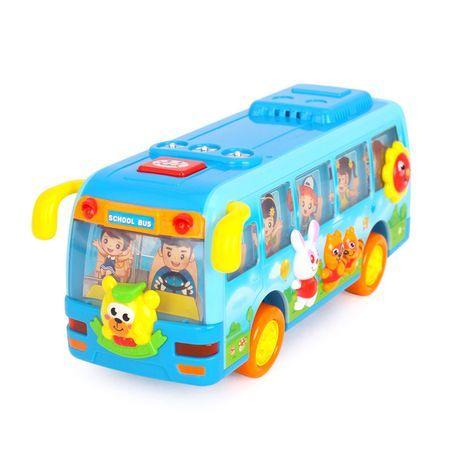 Autobuz Dansator Hola, cu sunete si lumini, 12 luni+