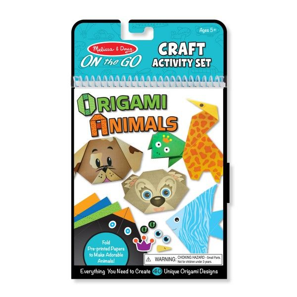 Origami Animale Colorate Melissa & Doug, 5 ani+