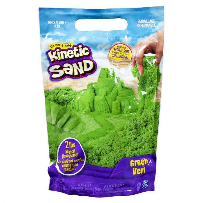 Nisip Kinetic Sand, 900 gr, Verde