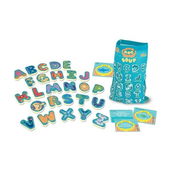 Joc Supa cu litere Melissa & Doug, in limba engleza, 4 ani+