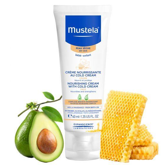 Crema nutritiva cu Cold Cream Mustela, piele uscata, 40 ml