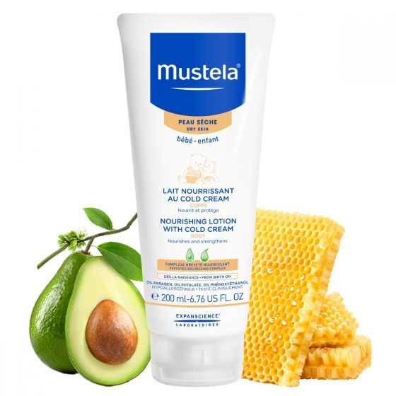 Lotiune nutritiva cu Cold Cream Mustela, piele uscata, 200 ml
