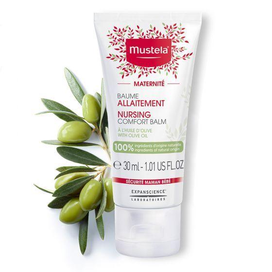 Balsam BIO pentru alaptare Maternite Mustela, 30 ml
