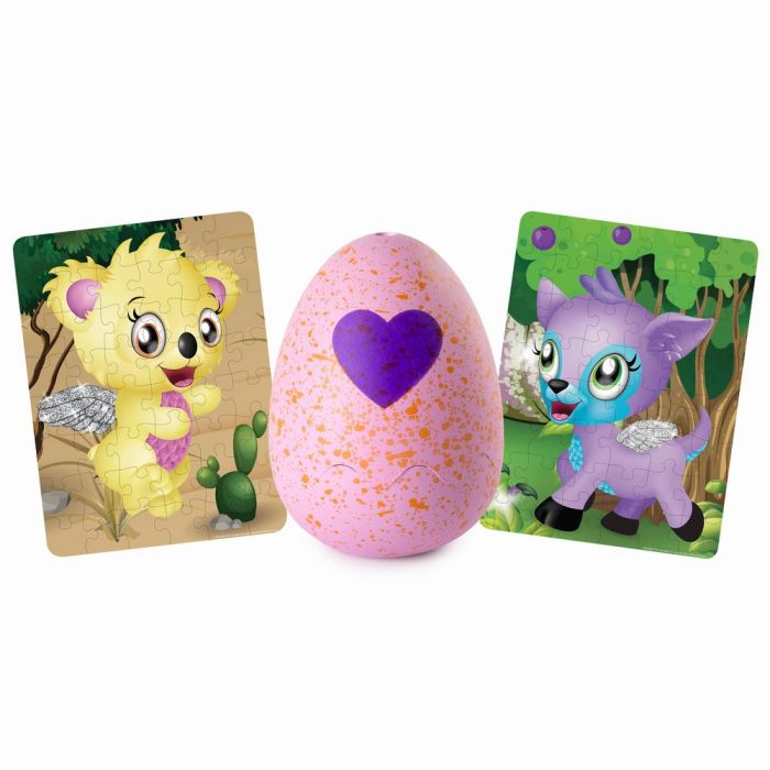 Ou cu puzzle Hatchimals Spin Master, 46 piese, 5 ani+