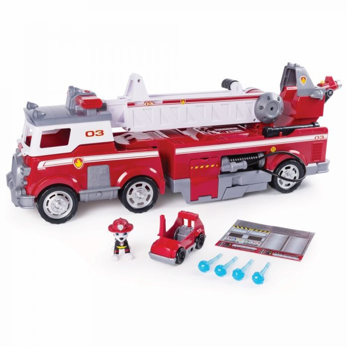 Patrula Catelusilor fantastica masina a pompierului Marshall Spin Master, 3 ani+