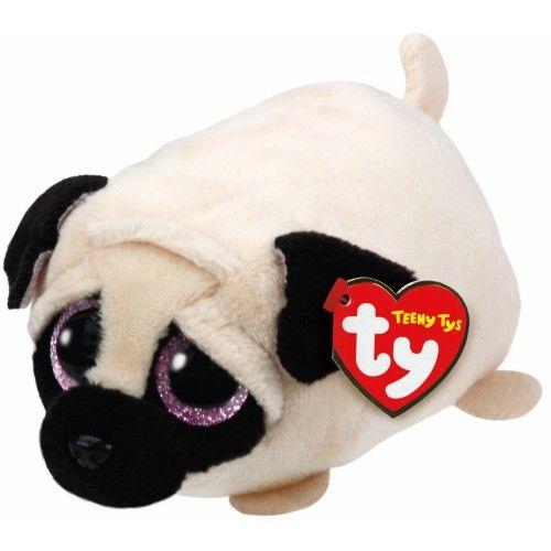 Plus Teeny Tys, Catel Pug TY, 10 cm, 3 ani+
