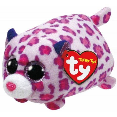 Plus Teeny Tys, Leopardul Olivia TY, 10 cm, 3 ani+
