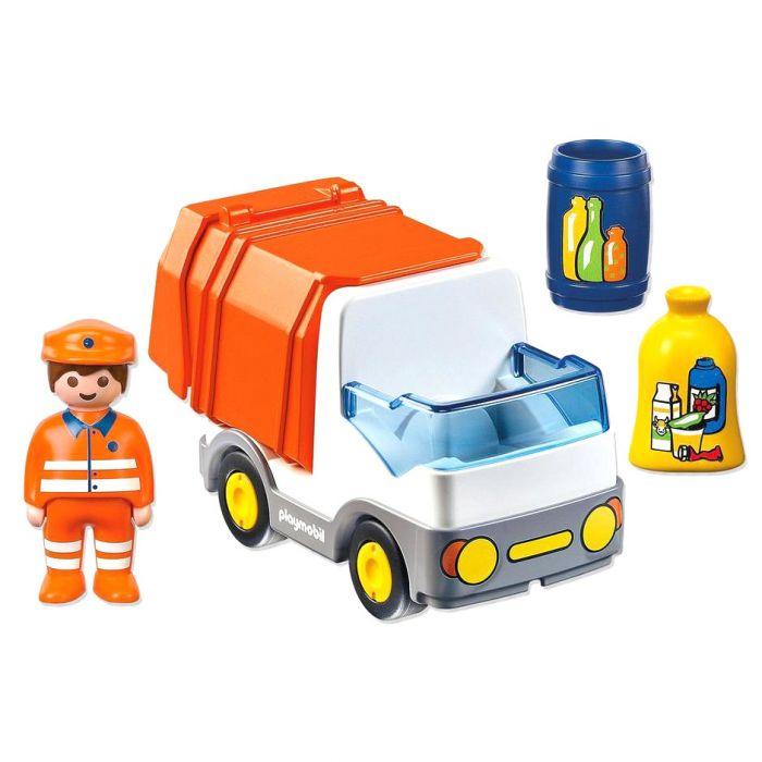 Figurina si camion deseuri Playmobil