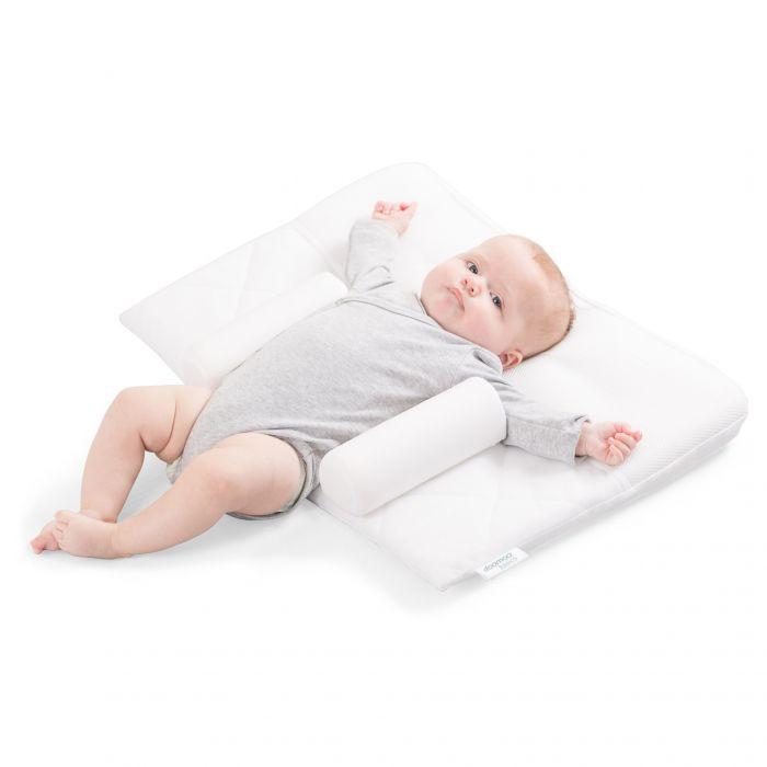 pozitionator perna inclinat bebe confort siguranta somn previne plagiocefalie pozitionala spuma memorie poliester