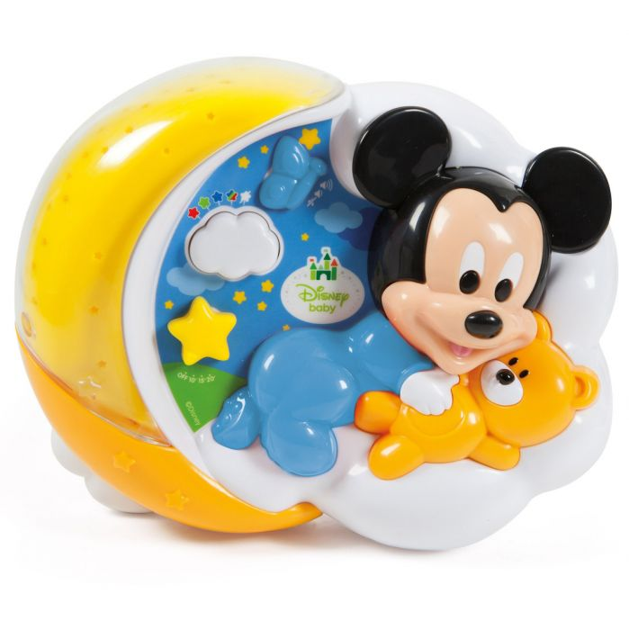 proiector muzical disney mickey mouse clementoni CL17095