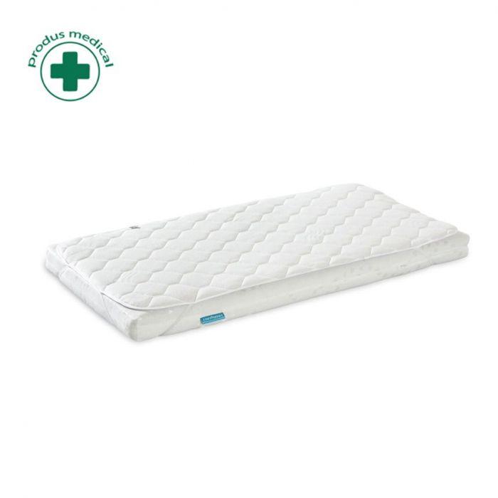 Protectie igienica saltea Fiki Miki HP1, 120x60 cm, alb