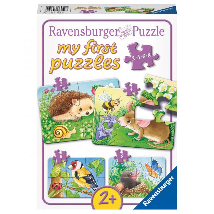 puzzle ravensburger copii animale din padure
