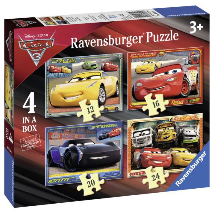 Puzzle Cars 72 piese Ravensburger