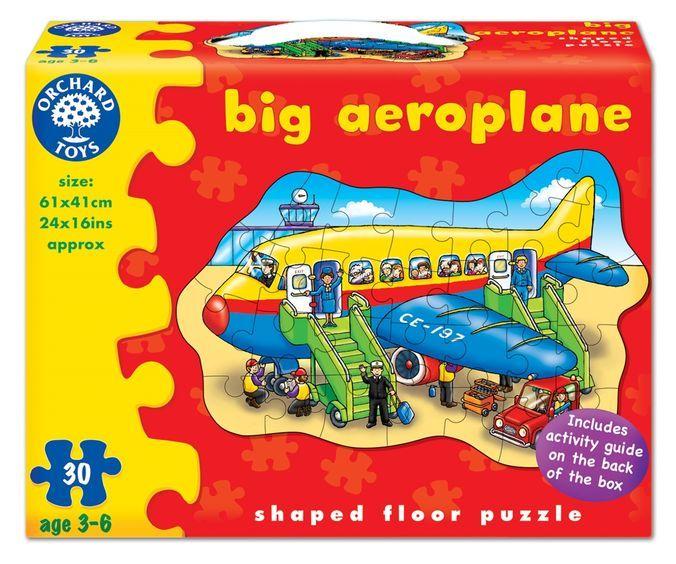 Puzzle de podea Avion Orchard, 30 piese, 36 luni+