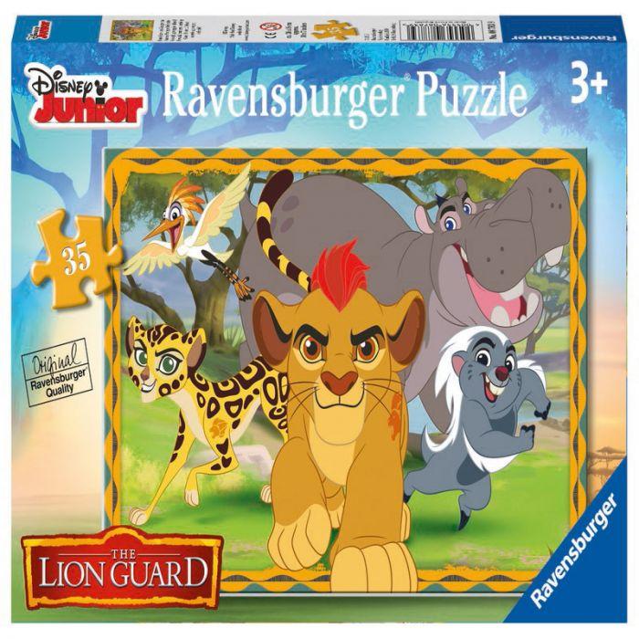 Puzzle Garda felina 35 piese Ravensburger