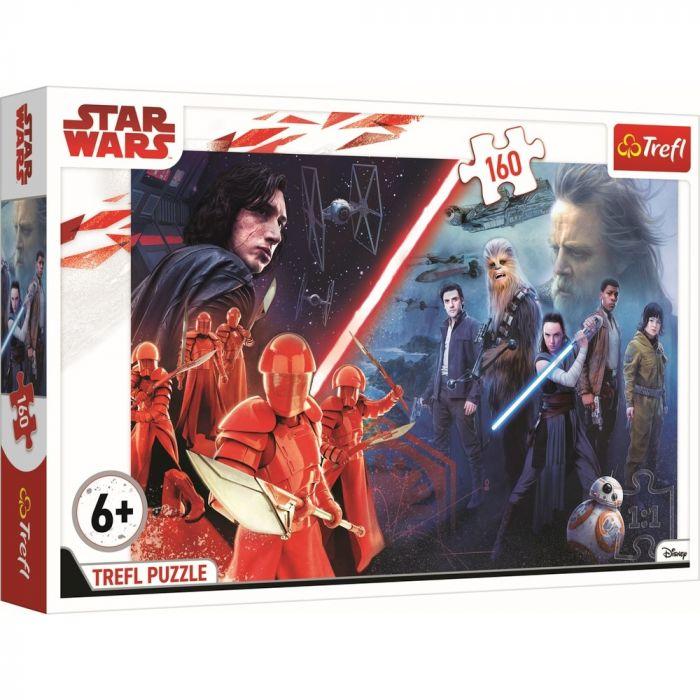 Puzzle Lupta finala Star Wars Trefl, 160 piese, 6 ani+