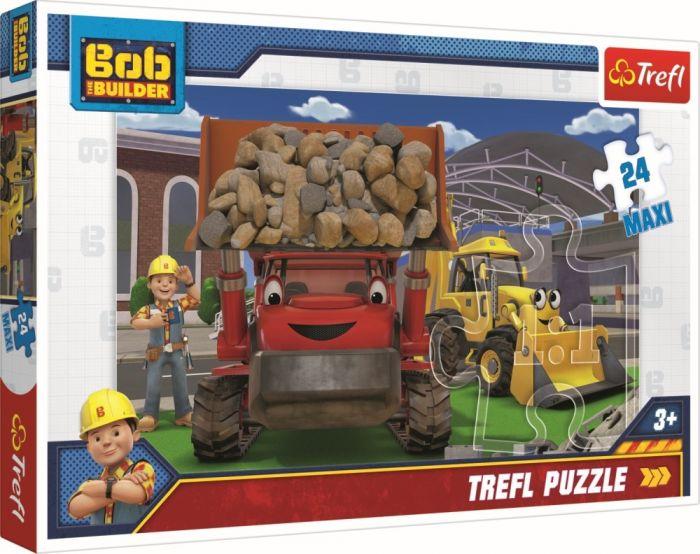 Puzzle maxi Bob Constructorul Trefl, 24 piese, 3 ani+