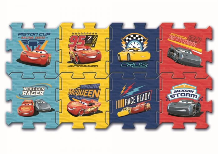Puzzle spuma Cars 3 Trefl, 8 piese, 2 ani+