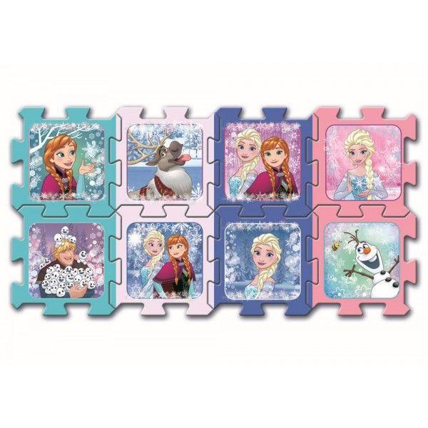Puzzle spuma Frozen Trefl, 8 piese, 2 ani+