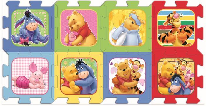 Puzzle spuma Ursuletul Winnie the Pooh Trefl, 8 piese, 2 ani+
