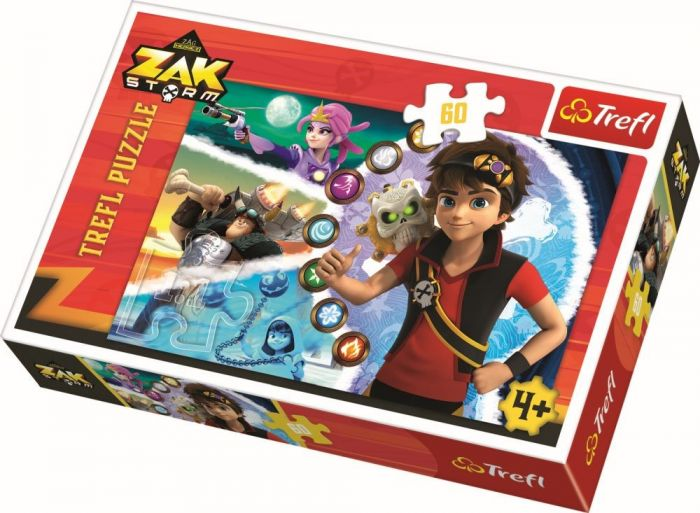 Puzzle Zak Storm Trefl, 60 piese, 4 ani+
