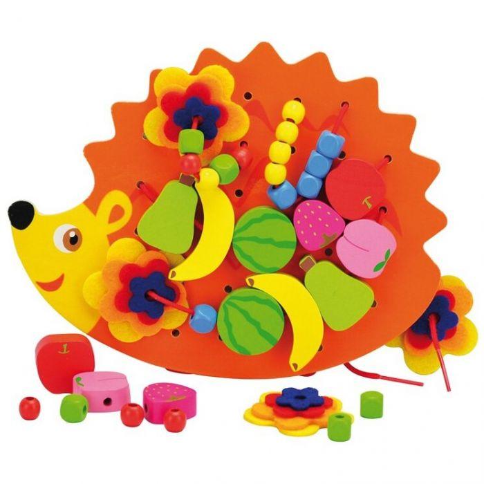 Ariciul de snuruit cu fructe Andreu Toys, 36 luni+