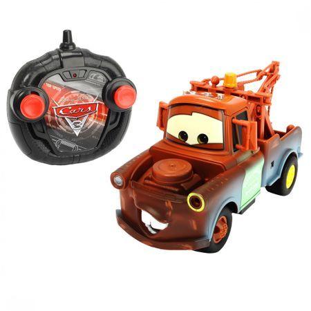 Masinuta Cars 3 Rc Turbo Racer Mater Simba, cu telecomanda, 4 ani+