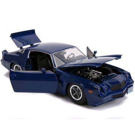 Macheta Chevy Camaro 1979 Jada Toys, metalica, 1:24, 8 ani+