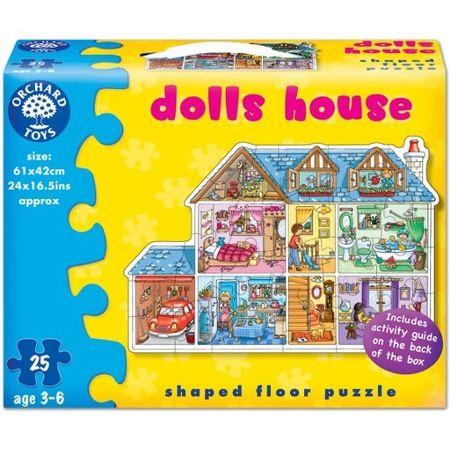Puzzle de podea Casa Papusi Orchard, 25 piese, 36 luni+