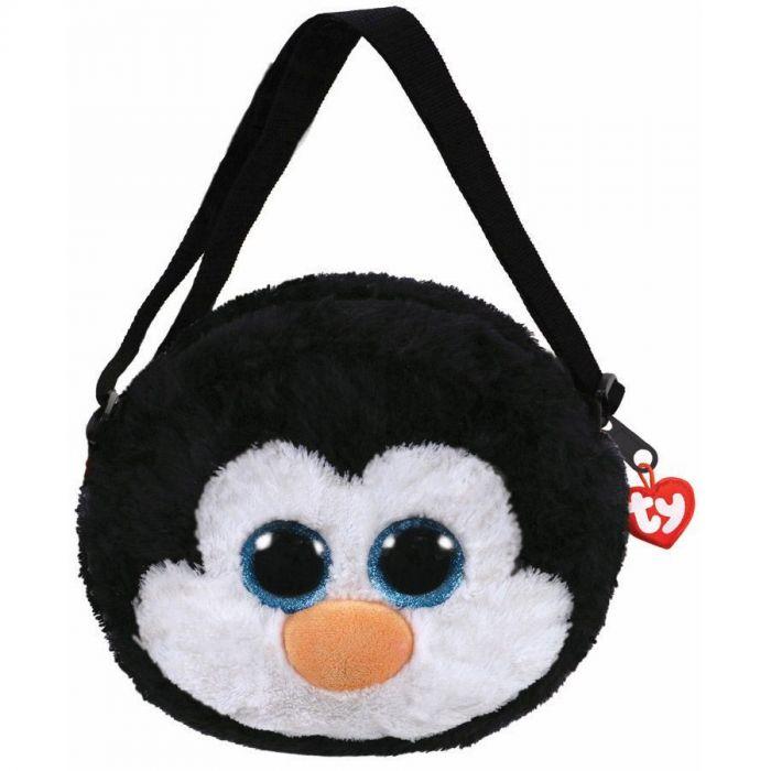 Gentuta De Umar Din Plus,Pinguinul Waddles TY, 15 cm, 3 ani+
