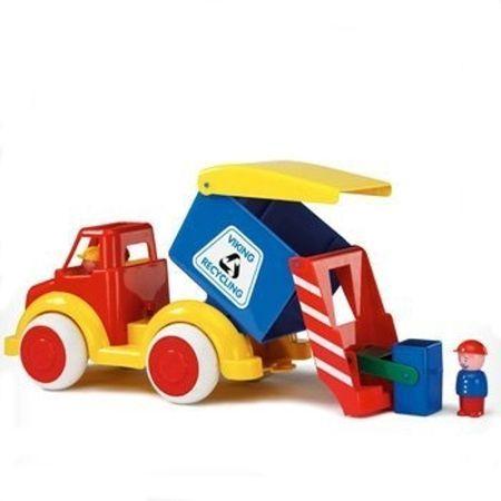 Camion Gunoi Super VikingToys, cu 2 figurine, 12 luni+