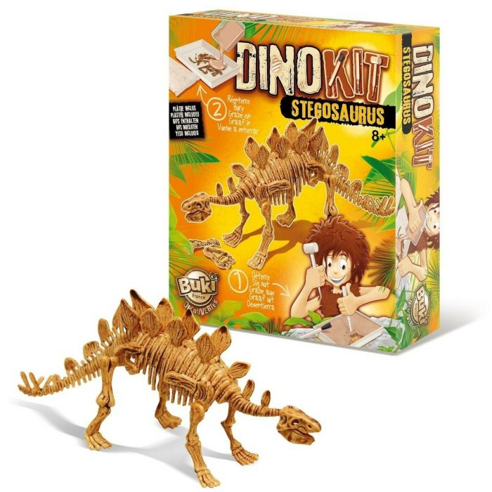 Paleontologie Dino Kit Stegosaurus Buki, 8 ani+
