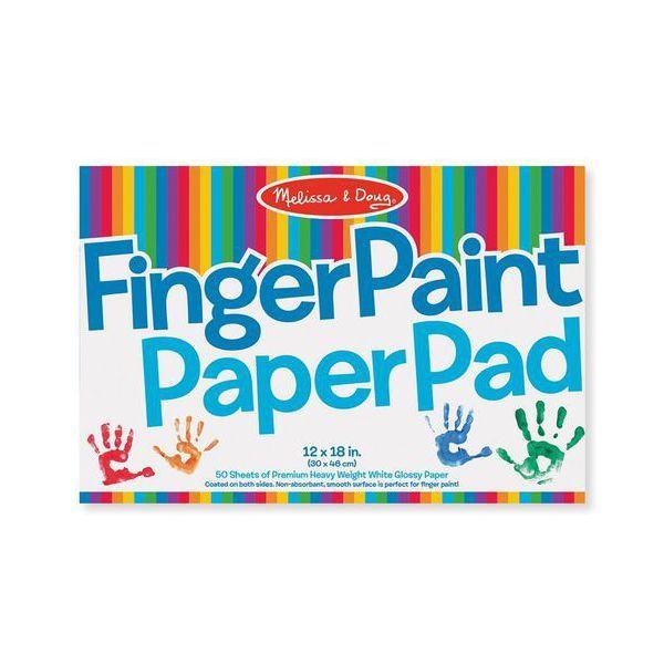 Bloc pictura cu degetele Melissa & Doug, 24 luni+