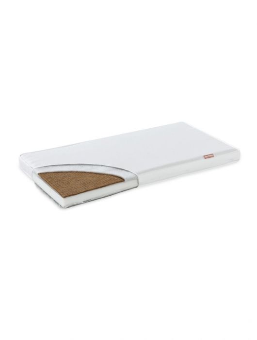 Saltea Cocos Komfort Lux Fiki Miki, 95x65x8.5 cm, alb