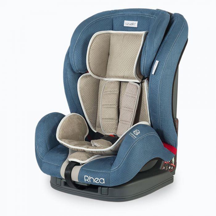 Scaun auto ISOFIX Rhea Coccolle, 9-36 kg, albastru