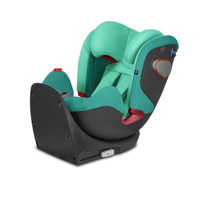 Scaun auto ISOFIX Uni-All Laguna Blue GB, 0-36 kg, verde