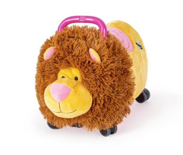 Jucarie ride-on Lion Funny Wheels Pink, 12 luni+