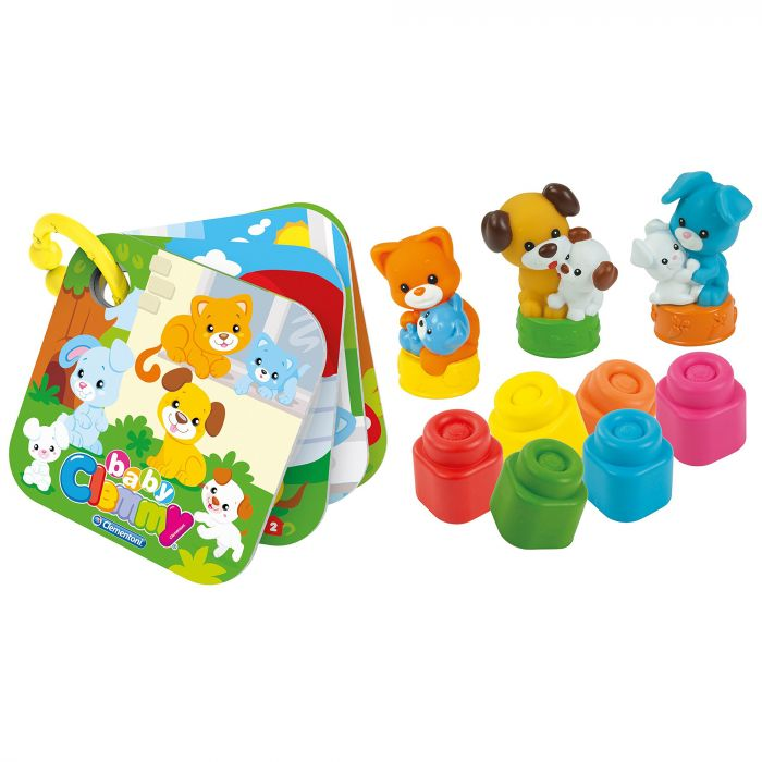 set 9 piese animale domestice pisica catel clemmy