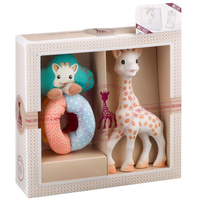 set sophiesticat girafa sophie zornaitoare cauciuc vulli