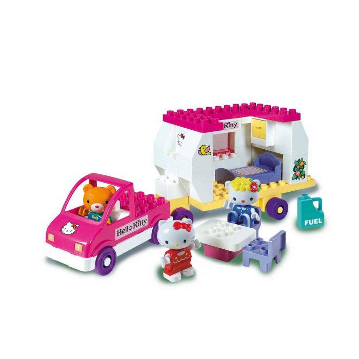 Set constructie Hello Kitty 47 piese Unico Plus