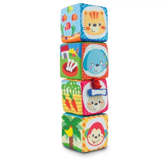 Set cuburi moi 4 piese Winfun