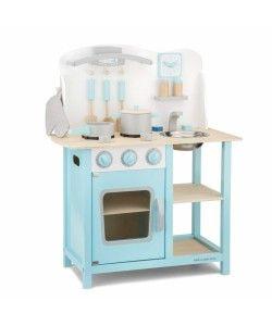 Bucatarie Bon appetit New Classic Toys, 36 luni+, Albastru