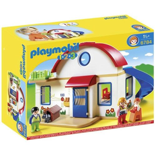 Set figurine si casa Playmobil 1.2.3